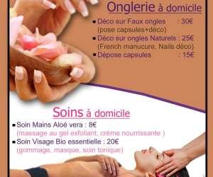 Nails  et  beauty  -  onglerie � domicile