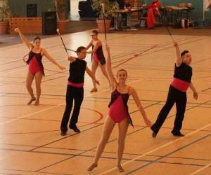 Club  de twirling  baton de  blois