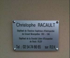 Christophe racault therapie manuelle