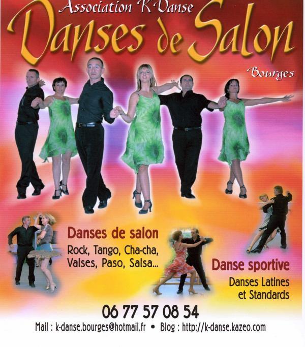 Association k 39 danse bourges 18000 t l phone horaires et avis - Association danse de salon ...