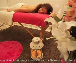 Dominique l. massages bien-être et réflexologie plantai