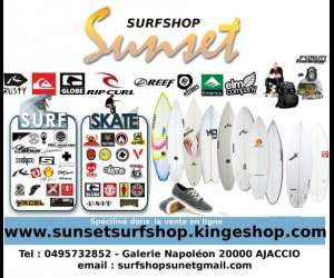 Surfshop sunset ajaccio