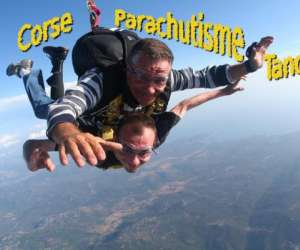 Corse parachutisme tandem
