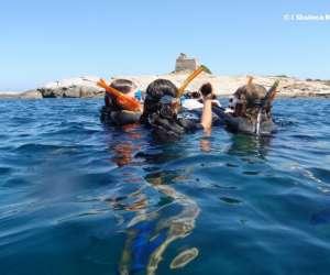 Sentier sous marin de lumio