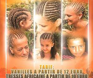 Patou vanille(coiffure africaine)