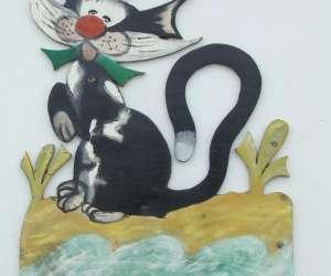 Le chat qui pêche