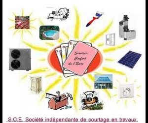 S.c.e. courtage en travaux