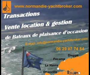 "Normandie yacht broker  "" location de voiliers"""