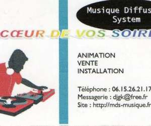 Musique diffusion system