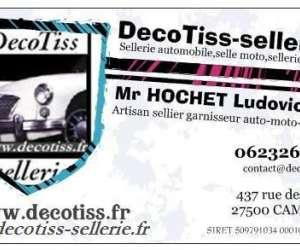 Decotiss-sellerie, artisan sellier automobile et moto