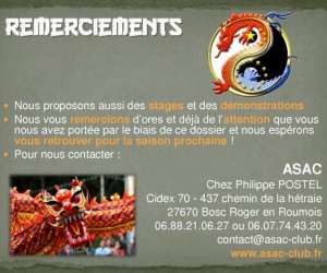 Asac association sportive et arts de la chine