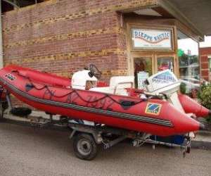 Location bateau zodiac a dieppe