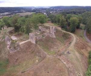 Château médiéval anglo-normand xie - xiie