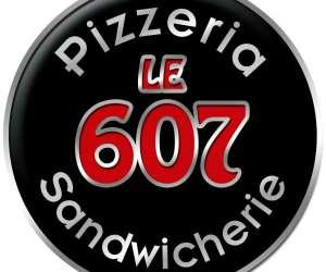"""Restaurant  pizzeria  sandwicherie  """" le  607 """""""