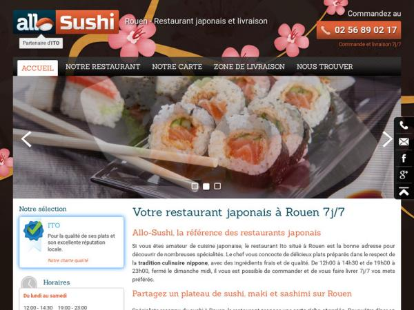 allo sushi rouen rouen 76000 t l phone horaires et avis. Black Bedroom Furniture Sets. Home Design Ideas