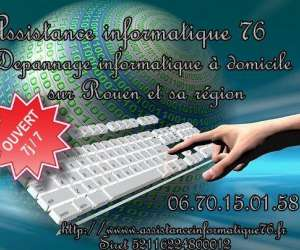 Assistance informatique 76