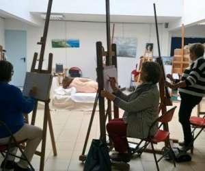 Quiberville atelier peinture modelage -ecole de peintur