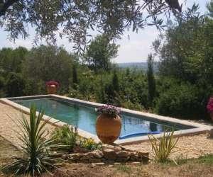 Location maison dans domaine viticole