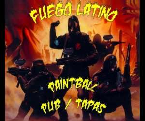 Paint-ball pub fuego latino
