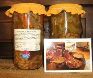 Conserves artisanales panier gourmand