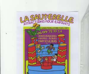 Animations, attractions pour enfants :la sauterelle