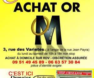 Achat or perpignan - ormajor