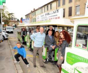 Le petit train touristique de limoux