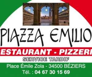 Restaurant  pizzeria     piazza emilio