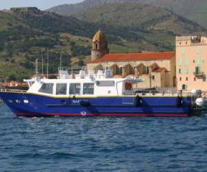 Collioure transports maritimes