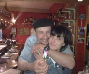 Chez  pascal et angelica - cafe restaurant  des corbier