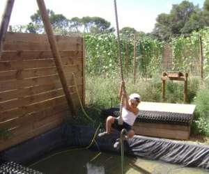 Teraventure, jardin végétalisé
