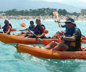 Central windsurf kayak