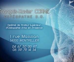 Corne françois-xavier- ostéopathe d.o