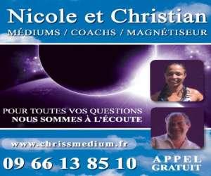 Nicole dufag et christian weibel - médiums et magnétise