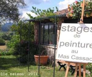 Mas cassac  -  stage de dessin et peinture
