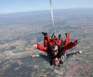 Cap tandem parachutisme,  parachutisme  tandem