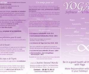 Cours de yoga douceur & vitalité