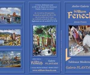 Atelier galerie william fenech