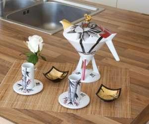 Atelier de peinture sur porcelaine