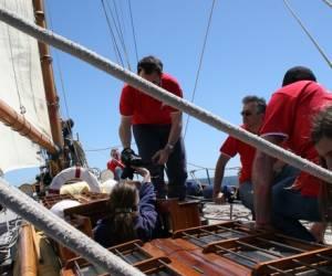 Red crew events - journee en mer vieux greement, yacht