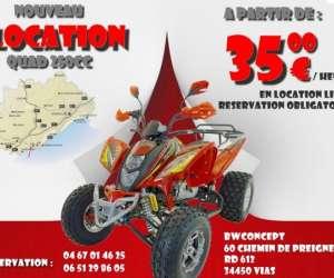 Dirtbike-france location libre quad