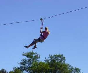 Abracadabranche parcours acrobatique en hauteur