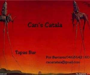 Restaurant bar tapas can