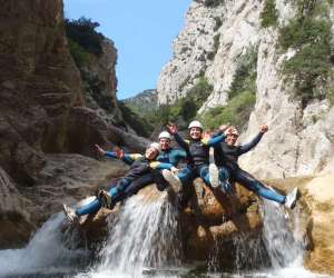 Aventure active rafing canyoning