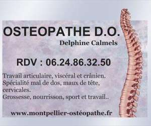 Delphine calmels  osteopathe