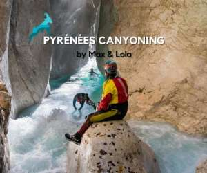 Pyrénées canyoning by max & lola