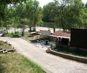 Canoe du pont suspendu