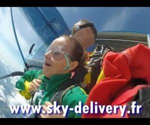 Sauts en parachute tandem