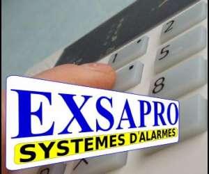 Exsapro - alarmes