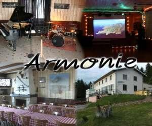 Piano bar, restaurant, hotel de montagne